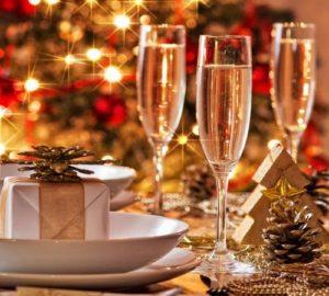 Рождество в ресторане